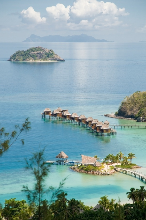 Fiji is one of my DREAM vacations!!  I love the beach and a bungalow over the water!!