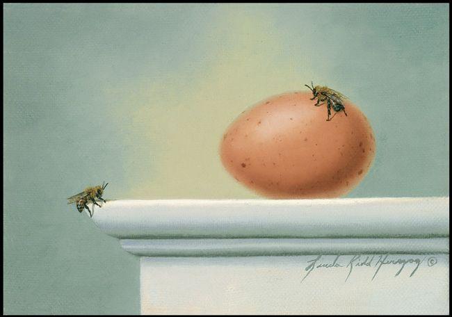Two Bee by LindaRHerzog