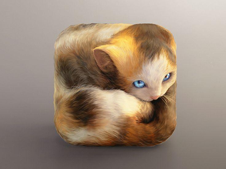 Kitten Icon by CreativeDash