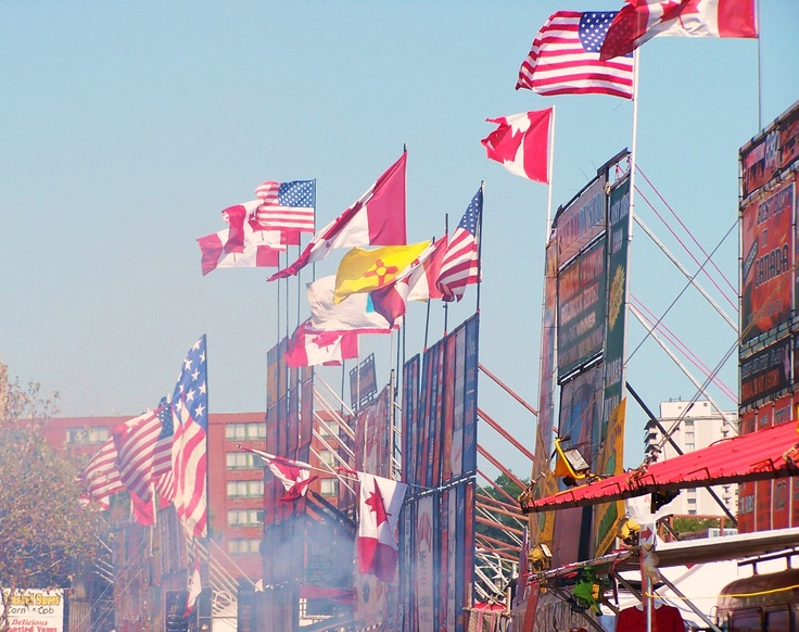 Burlington Rib Fest - Although it marks the end of summer because it is labour day weekend, its always a great weekend to check out some bands and have some awesome ribs and maybe pick up some cool tips on BBQ'ing and marinades.