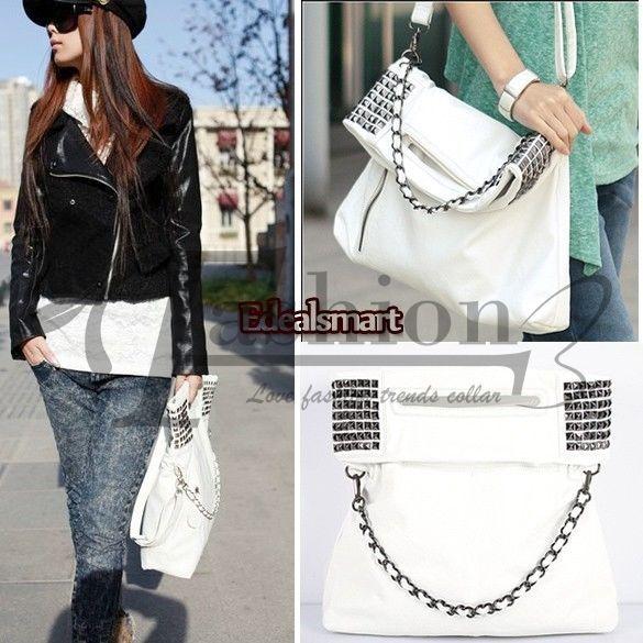 New Fashion Korean Style Lady Women Hobo PU leather Handbag Shoulder Bag P inco #Unbrand #TotesShoppers