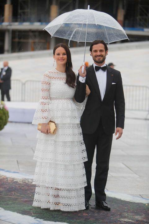 El príncipe Carlos Felipe y la princesa Sofía de Suecia en Oslo, 9 mayo, 2017