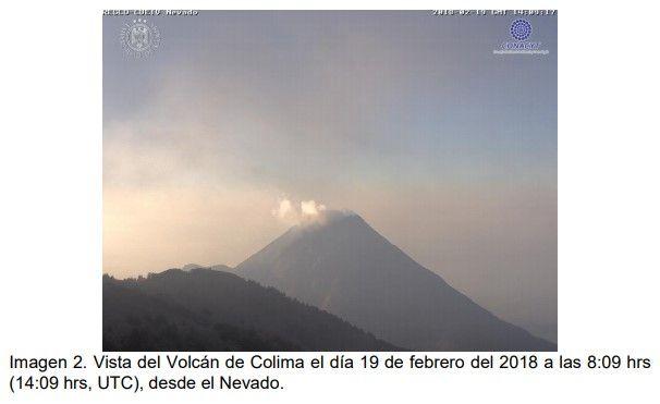 SpaceByEli: ▓ Volcán de Colima | Universidad de Colima | 23-Fe...