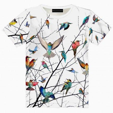 Birds T-shirt our t-shirts collection #tshirt #streetwear #streetfashion #streetstyle #brzozowskafashion #brzozowska #fashion #print #3d #3dprint #fullprint #birds #ptaki #motyw #ptakow #modauliczna #polskistreetwear #koszulka #nadruki #nadruk #autorski #projekt