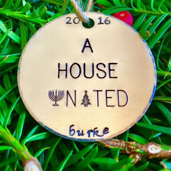 Interfaith Christmas Ornaments/Hanukkah by FusionedFamily on Etsy