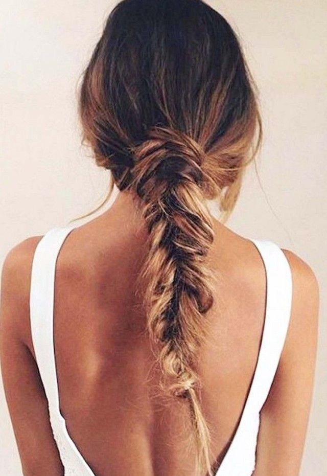Loose, long braid