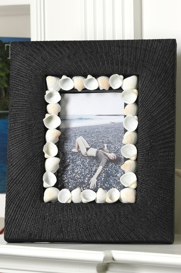 I could do this--sea shells around picture frame