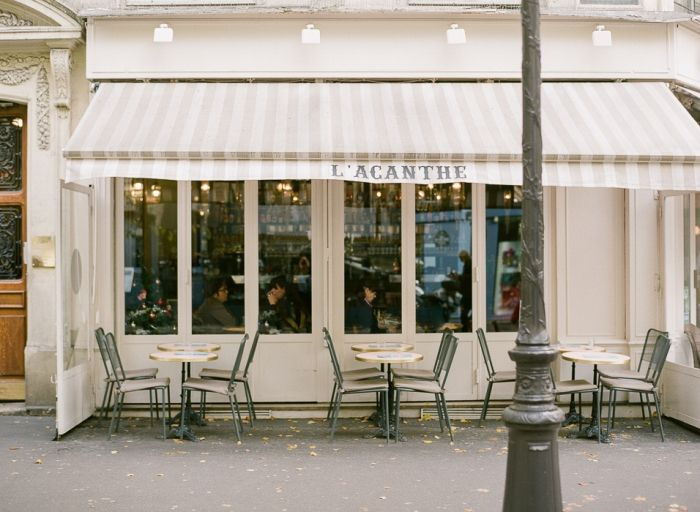 Acanthe Cafe in Paris France | photography by http://www.brittanymahood.com/
