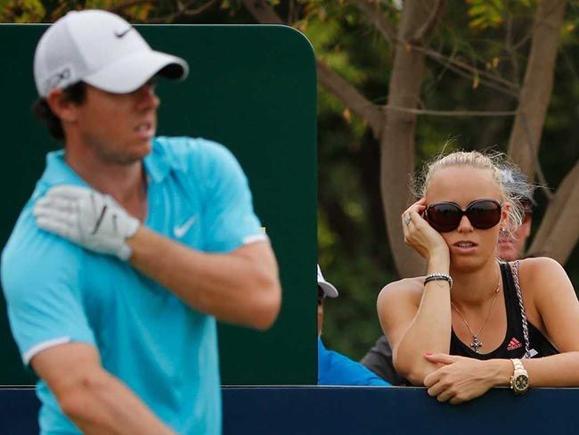 """Tennis star Caroline Wozniacki has come clean about the sudden end to her three-year relationship with Rory McIlroy. Just over three months ago, the golf star phoned his then-fiancee and, during the brief conversation, called off the wedding. """"You start thinking what was wrong,"""" she says."""