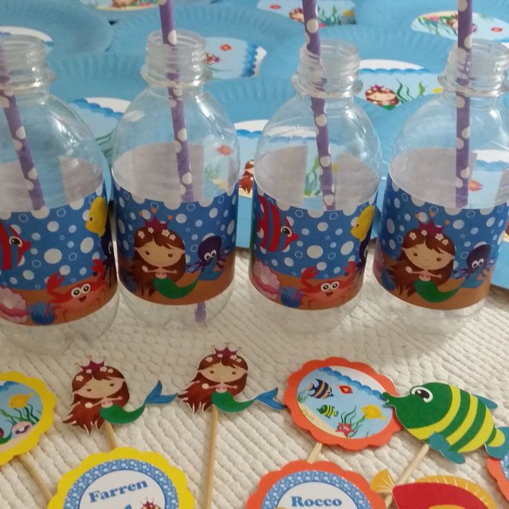 Mermaids and Fishies Party Supplies. www.suchfun.co.za
