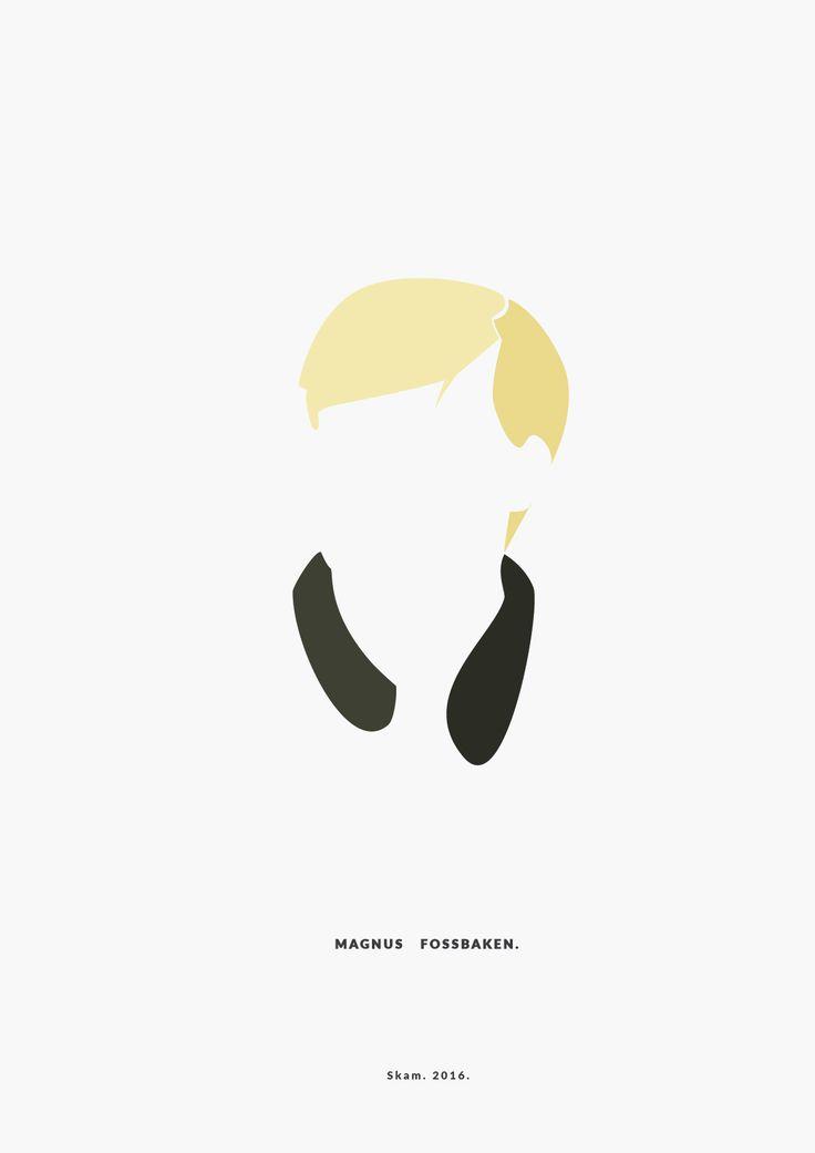 Magnus Fossbaken.  SKAM. 2016.  __________minimal project - (Part Twelve)  IG https://www.instagram.com/brbrgraphics/