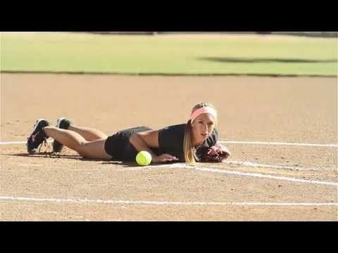 Softball Pitching Drills: Jump-Up Drill - Amanda Scarborough - YouTube
