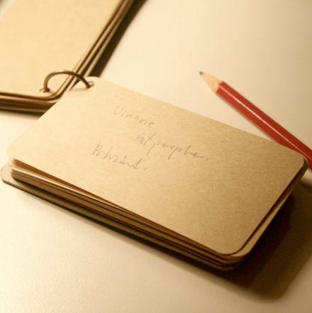 Minilibreta de bolsillo color kraft, natural o negro. A la venta en: www.mrwonderfulshop.es #libreta #mini