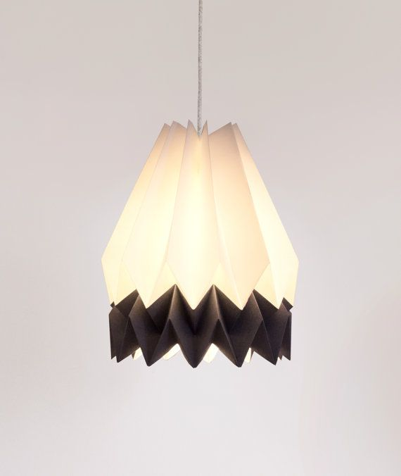 Origami Lampshade Pendant Light Ceiling Lamp Polar by orikomi