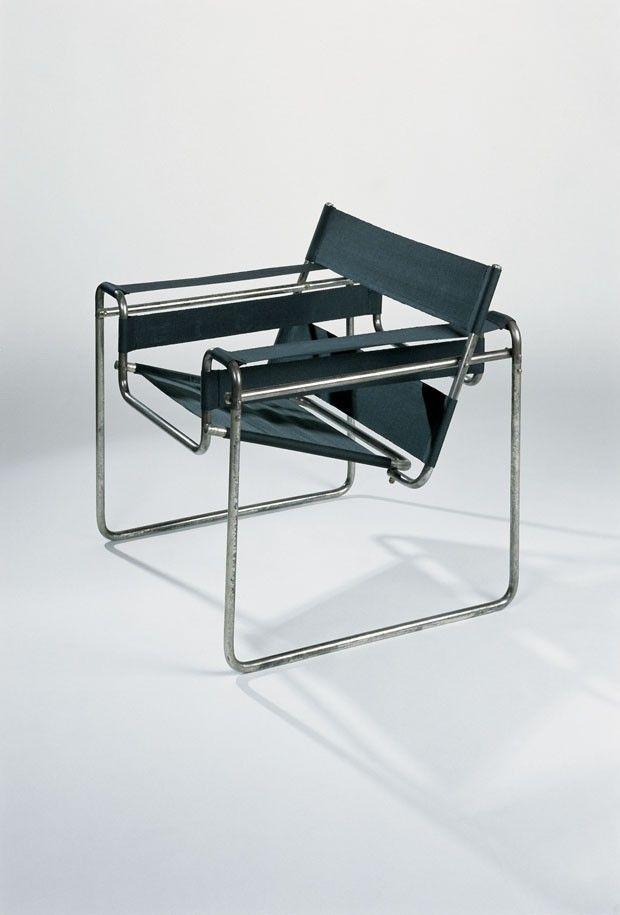 """A cadeira """"Wassily"""" foi desenhada pelo arquiteto húngaro Marcel Breuer entre 1925 e 1927"""
