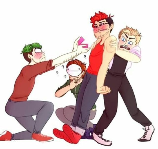 Jack proposes to Mark   Septiplier   Featuring PewDiePie and Cryaotic