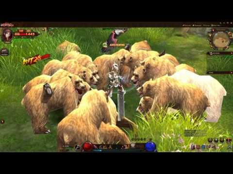 Dark Era [BETA] RAW Gameplay 3 - Dark Era is a Free to play [F2P], 3D double-client Role-Playing MMO Game [MMORPG], that has amazing gaming effects, real-time combat and fantastic game visuals