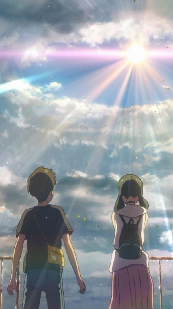 Gkids On Instagram Watch The Subtitled Trailer For Weathering With You From Director Makoto Shinkai Anime Films Anime Scenery Anime Backgrounds Wallpapers
