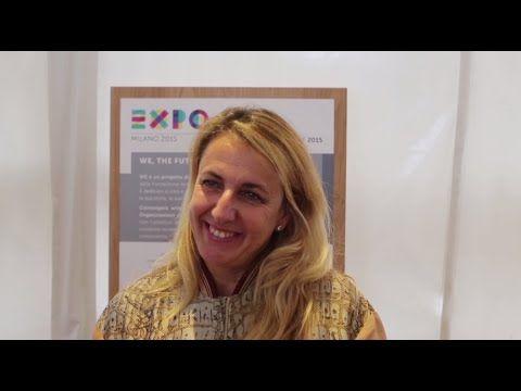Ambassador Expo Milano 2015 Patricia Urquiola #Expo2015 #Milan