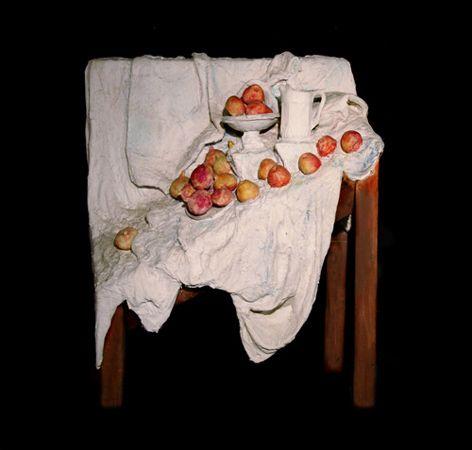 George Segal, Cezanne Still Life #4