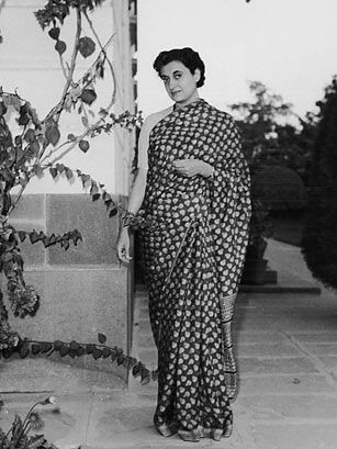 """Indira Gandhi (1917-1984) She was the nation's daughter, brought up under the close watch of both her father Jawaharlal Nehru, who was India's first Prime Minister after decades of British rule, and her country. When Indira Gandhi (no relation to Mohandas Karamchand Gandhi) was elected Prime Minister in 1966, a TIME cover line read, """"Troubled India in a Woman's Hands."""" Those steady hands went on to steer India, not without controversy, for much of the next two decades through recession…"""