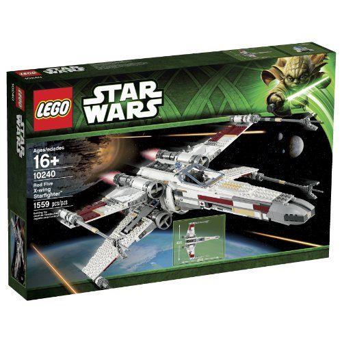 LEGO Star Wars 10240 Red Five X-Wing Starfighter Building Set LEGO http://smile.amazon.com/dp/B00COM5ZNE/ref=cm_sw_r_pi_dp_g22Eub1X2HXCJ