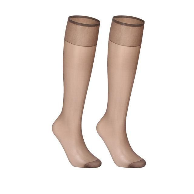 Cheap Knee High Compression Stockings Men Women Elastic Leg Support Stockings Wholesale