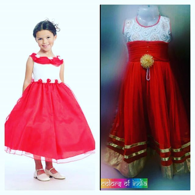 Newly arrived red and white dress for your cute little princess.  #indianwear #fashion #fashions #trends #cultures #culture #india #indian #girlswear #ethnic #kids #kidswear  #clothes #clothing #beautiful #lehnga #indiansaree #indiansari #indiansarees #saree #sarees #indianoutfits #designer  #dresses #indiandesigner #style #stylish #celebrity #outfits #littlegirldresses