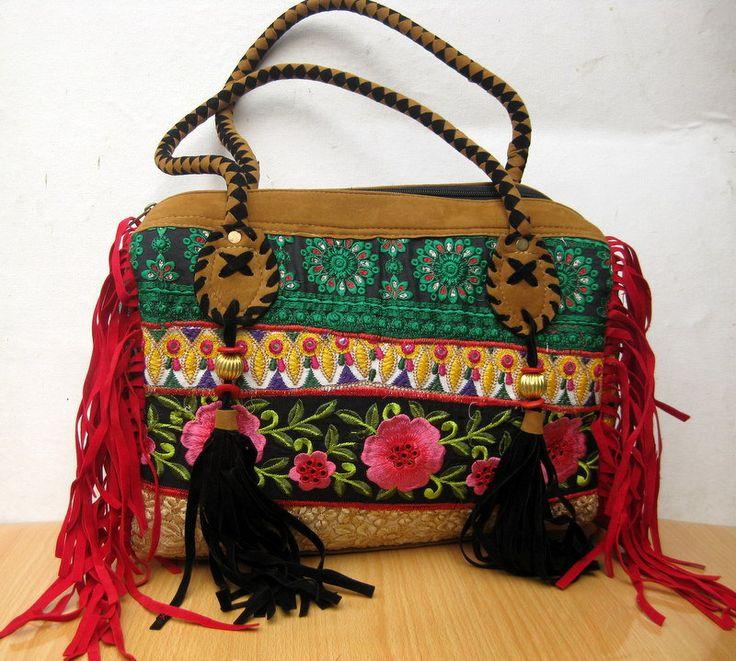 Handbag  / banjara  bag/colorful bag / shoulder bag/ fashion bag /tribal bag/ embroiderd bag/ gift item. by vibrantscarves on Etsy