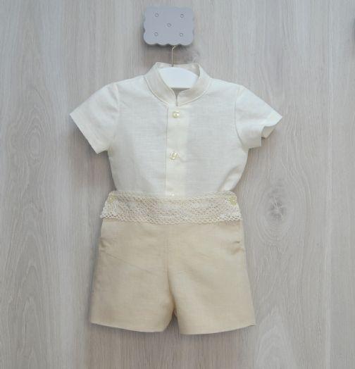 55b15c302 Conjunto de niño bautizo o vestir.· Nueva colección· Bonito y sencillo  conjunto de