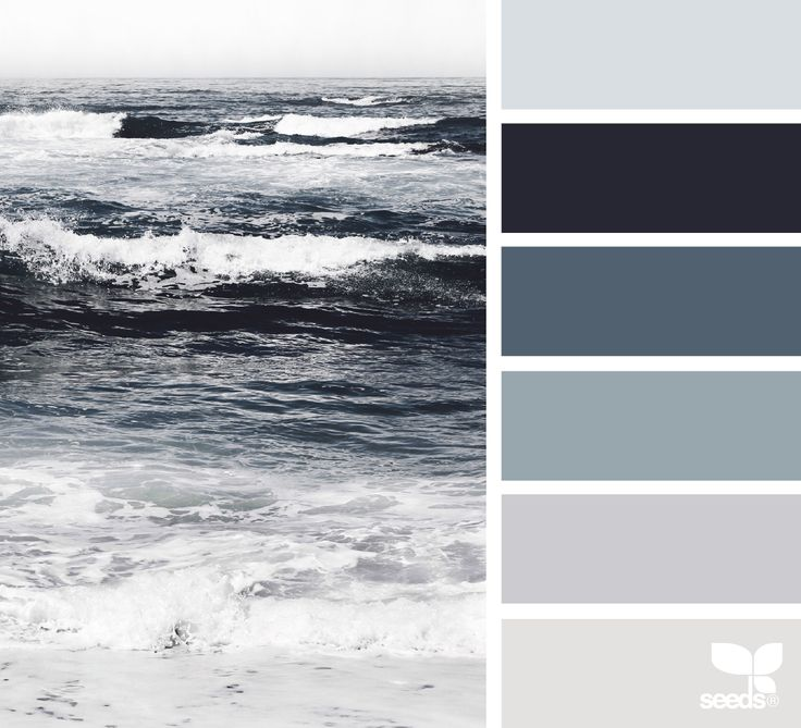 Sea Tones Grey Color SchemesGrey ColorsPaint