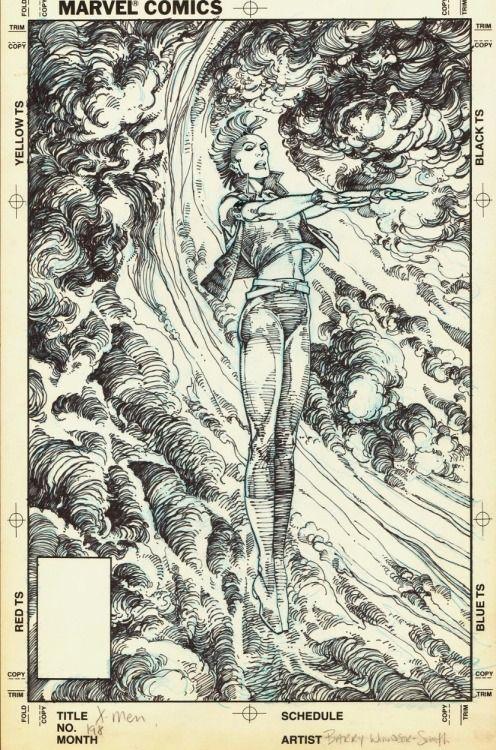 brianmichaelbendis:  Uncanny X-Men #198 by Barry Windsor-Smith