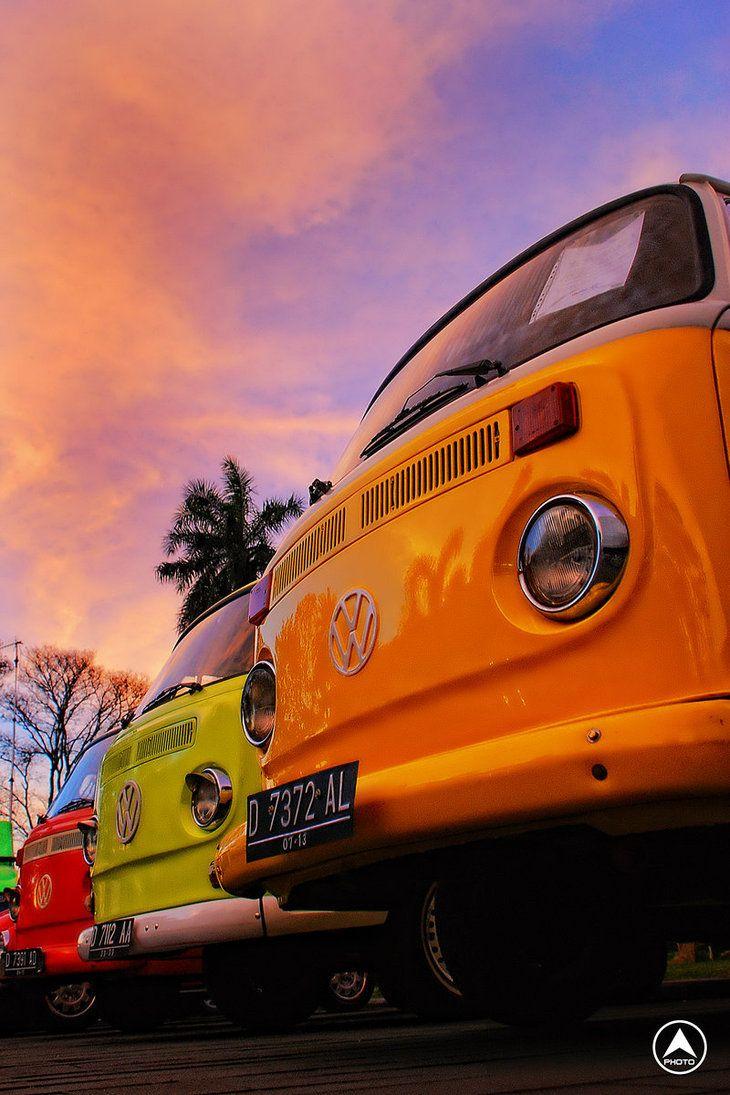 Colorful Volkswagen MkIII by Blissedsoul on deviantART
