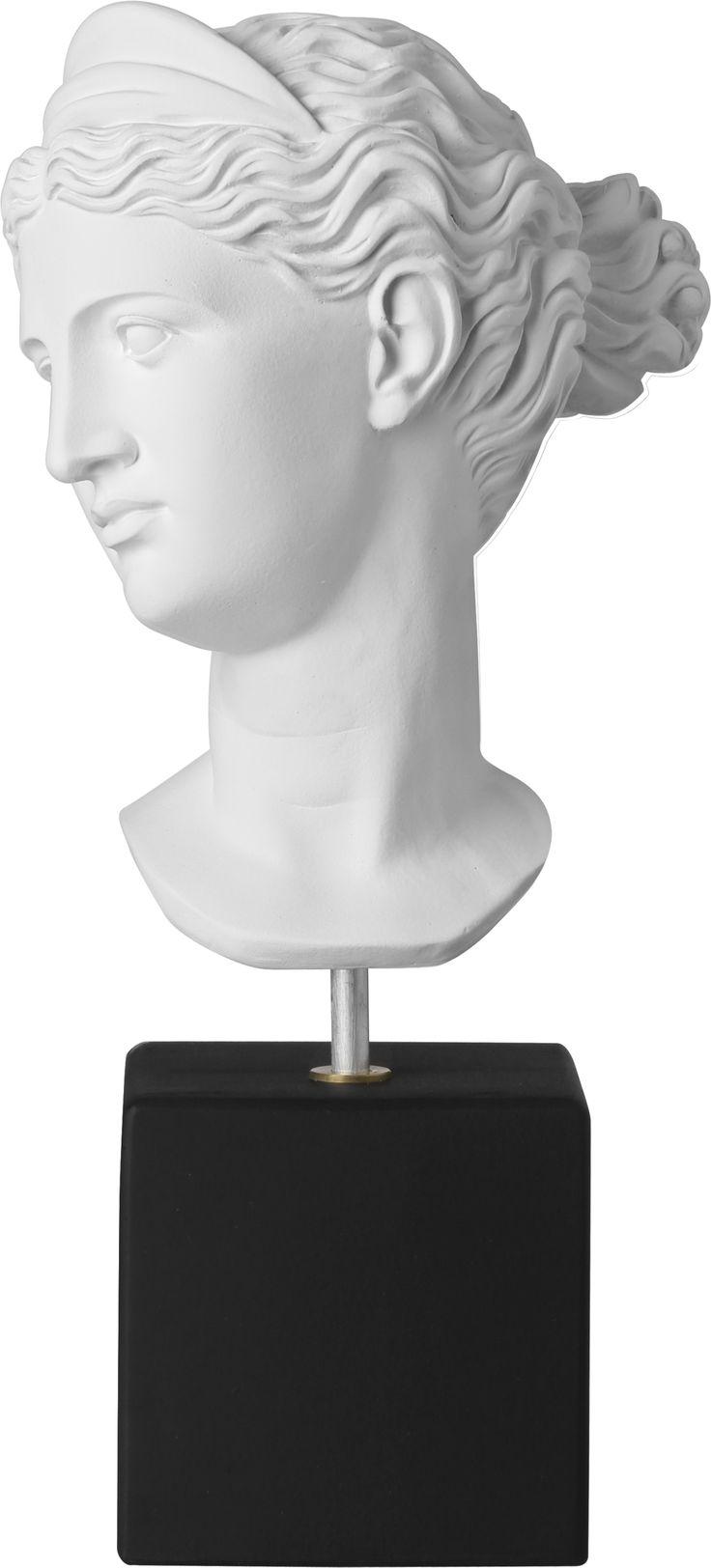 Artemis Weight: 4500 gr Dimension: 38,5x17,5x14,5cm Material: ceramine Color: white black