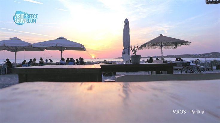 Sunset @ Parikia , Paros island , Greece !!!!