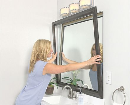 How It Works - Frames for Mirror, Mirror Frame Kit | bathroom in ...