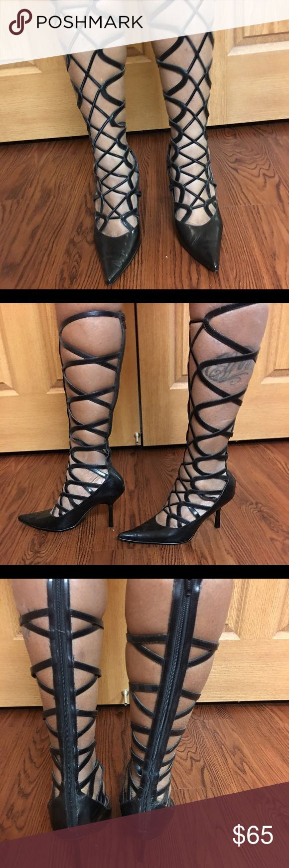 1000  ideas about Gladiator Heels on Pinterest | Sexy heels ...
