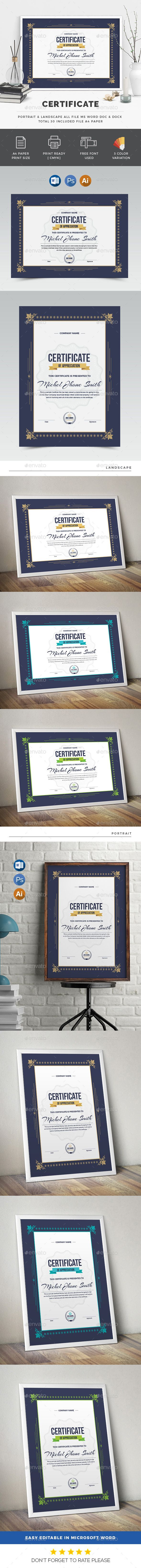 #Certificate - Certificates Stationery Download here:  https://graphicriver.net/item/certificate/20021117?ref=alena994