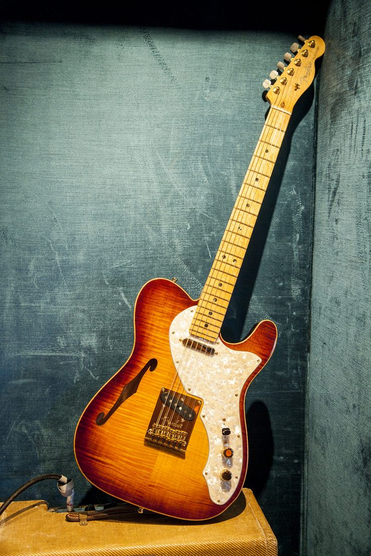 Fender Select Thinline Telecaster® w Gold Hardware This is next on my list of electric guitars!! Love it.