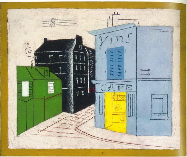 Stuart Davis Blue Cafe 1928