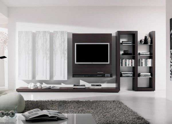 Small Living Rooms With TV and rugs