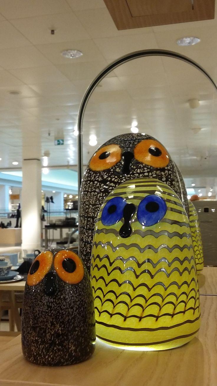 Oiva Toikka Owls and owlet