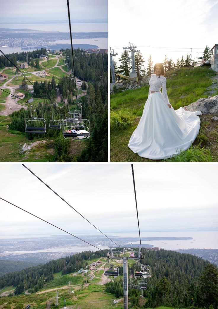 Grouse Mountain Wedding by Joanna Moss Photography / Designed by Memory Laine Events
