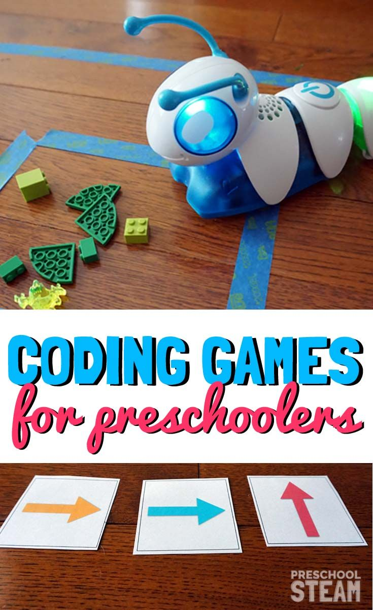 Coding Games for Kids - Introduce the foundation of coding to your preschooler with these fun hands-on coding games.