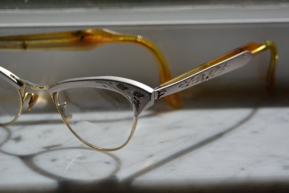 VIntage 60's Cat's Eye Bifocal glasses by Poshusagishop on Etsy, $35.00