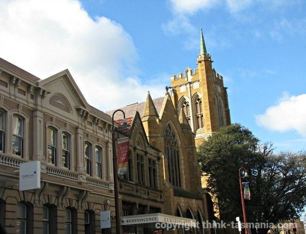 Shopping in Murray Street #Hobart #Tasmania Article and photo for think-tasmania.com
