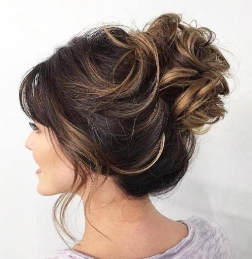 Best 25 Messy Wedding Hairstyles Ideas On Pinterest: Best 25+ Loose Curly Updo Ideas On Pinterest