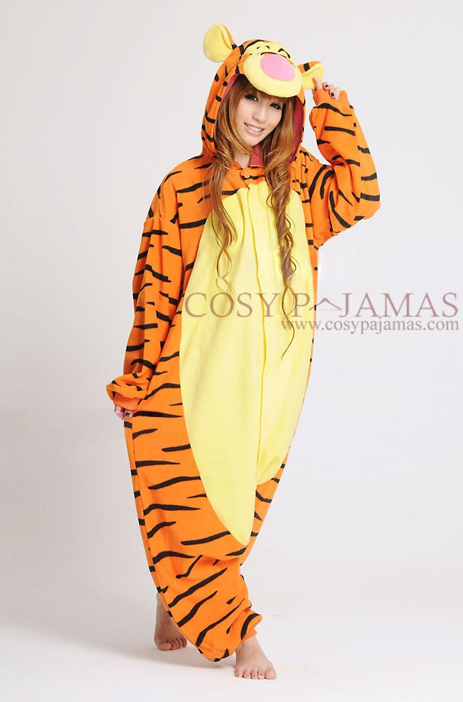 Animal Costume Disney Tigger Adult Onesie