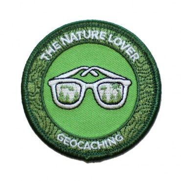 """7SofA Patch: The Nature Lover $4.00 USD Were you voted """"most likely to see Bigfoot"""" in your high school yearbook? Can you identify poison oak from a mile away and poison ivy from across the state? Are you always prepared to pick up trash and do you live for the days you can get out on the trail and leave civilization behind? If this sounds like you or someone you know, celebrate with this cool Nature Lover patch! Attend a CITO event or find an EarthCache to earn the Nature Lover souvenir."""