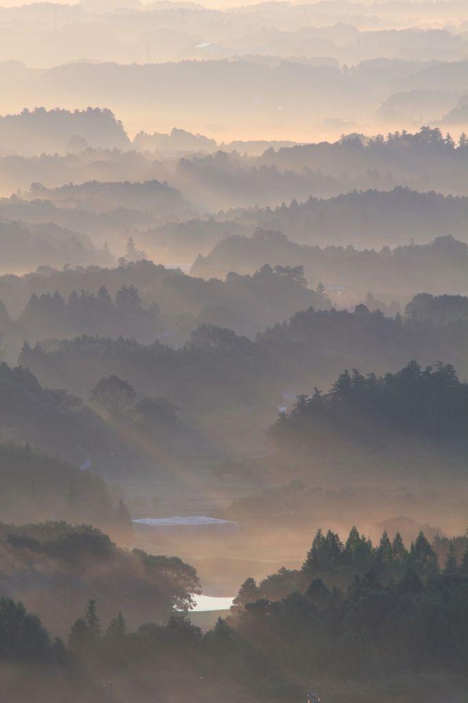 茨城県ひたちなか市 Beautiful Morning Light, Ibaraki Japan|奇跡の朝